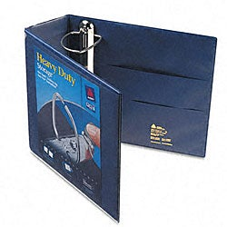 Avery Nonstick 4-Inch Navy Blue Heavy-Duty EZD Reference View Binder
