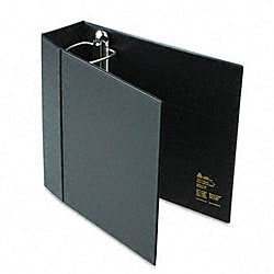 Avery 4-inch Heavy-Duty EZD Ring Binder with Label Holder