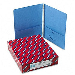 Smead Two-Pocket Portfolios with Tang Fasteners (25 per Box)