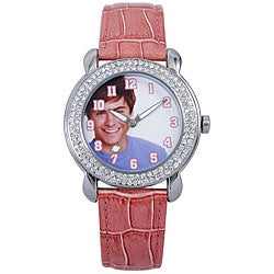 Disney Troy Bolton Women's Pink Strap Watch