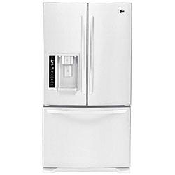 LG Three-door White Refrigerator