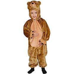 Cuddly Little Brown Bear Costume
