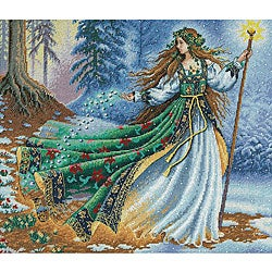 'Woodland Enchantress' Counted Cross Stitch Kit