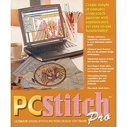PC Stitch Pro Cross Stitch Software Version 7.0