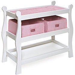 Baby Doll Bed And Changing Table