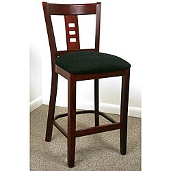 Dark Mahogany Film Back Counter Stool