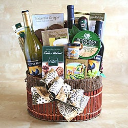 Wine Cellar Surprise Gift Basket
