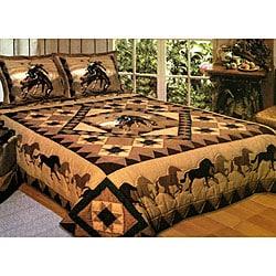 Country Cowboy 3-piece Quilt Set
