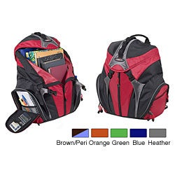 Case It Verticle Zip Backpack