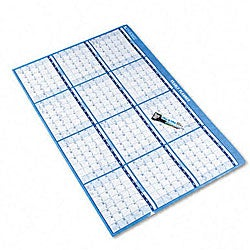 At-A-Glance Reversible and Erasable Horizontal Wall Planner