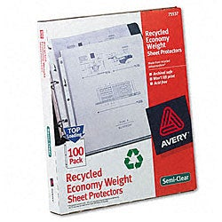 Avery Easy-load Recycled Poly Sheet Protectors (Pack of 100)