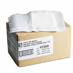 Reclosable Small Parts Bags with Write-On Panel (Case of 1,000)