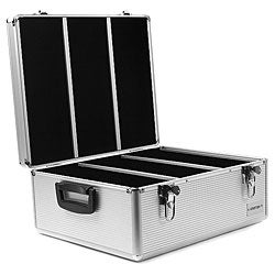 Aluminum Merax 600-disc CD/ DVD Storage Case