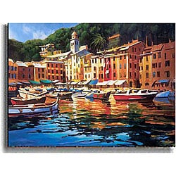 Michael O'Toole 'Portofino Colors' Canvas Art