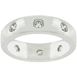 Kate Bissett Designer-inspired CZ Fashion Eternity Ring