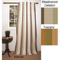 Tonal Stripe 84-inch Curtain Panel Pair