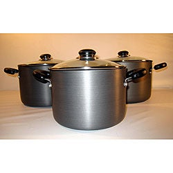 Heavy-duty Hard Anodized Nonstick Cookware Set