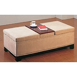 2-in-1 Storage Coffee Table/ Bench | Overstock.