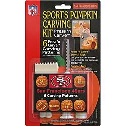 San Francisco 49ers Pumpkin Carving Kit