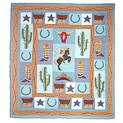 Western Rider King-size Quilt