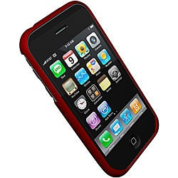 ifrogz iphonewrapz Red 3G Apple iPhone Case