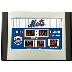 New York Mets Scoreboard Desk Clock 11531400 Overstock