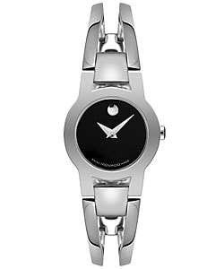 Movado Amorosa Women's Steel Bangle Watch