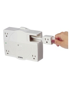 Four Outlet Surgecenter 6 39 Retractable Extension Cord