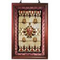 Tiffany-style Classic Wooden Window Panel