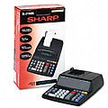 Sharp EL2196BL 2-color Drum Printing Calculator
