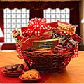 Valentine's Day Treats Gift Basket