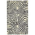 Hand-tufted Zebra Wool Rug (8' x 10'6)