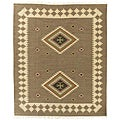 Handmade Elite Flat-woven Wool Rug (8&#39; x 10&#39;)