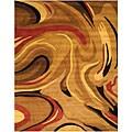Hand-tufted Andora Wool Rug (5' x 8')