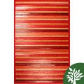 Red Bamboo Area Rug (3' x 5')