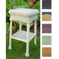 PVC and Steel Outdoor Side Table