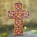 'Hibiscus' Mahogany Cross (Indonesia)