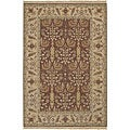 Hand-knotted Legacy Collection Gold Wool Rug (9' x 12')