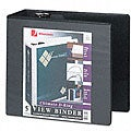 Wilson Jones Five-Inch Locking D-Ring Vinyl View Binder