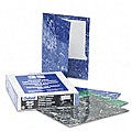 Marble Design High-Gloss Laminated Two-Pocket Portfolios (25 per Box)