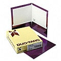 Metallic Two-Pocket Purple Folders (25 per Box)