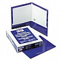 Laminated 100-sheet Two-pocket Portfolios (Pack of 25)