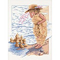 Sandcastle Dreams Counted Cross Stitch Kit