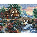 'Twilight Bridge' Counted Cross Stitch Kit