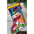 &#39;Freezin&#39; Season&#39; Stocking Needlepoint Kit