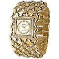 Haurex Italy Amnesia Women's Goldtone Crystal Watch