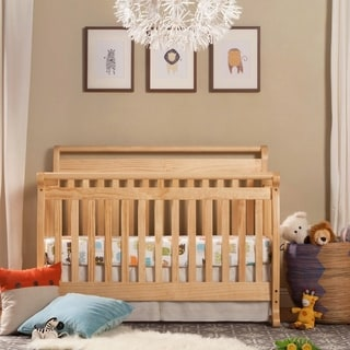 DaVinci Emily 4-in-1 Convertible Crib with Toddler Rail