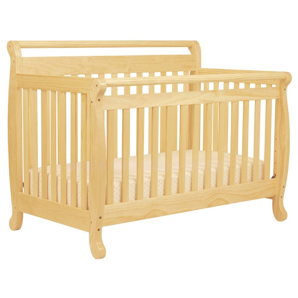 DaVinci Emily 4-in-1 Convertible Crib with Toddler Rail in Natural