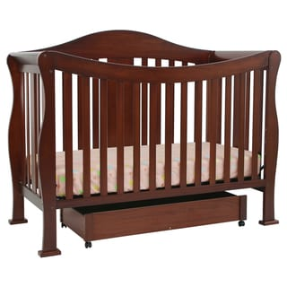 DaVinci Parker 4-in-1 Crib with Toddler Rail in Cherry