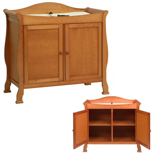 DaVinci Oak Color 2-door Changing Table